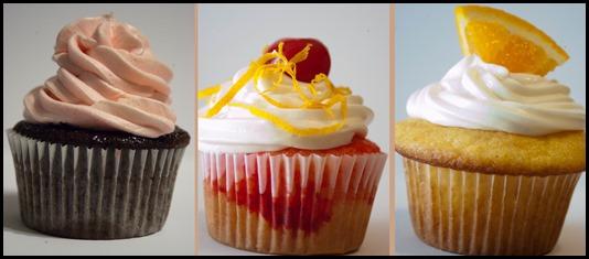Tipsy Treats Cupcakes