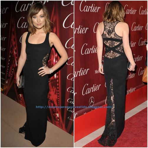 Olivia Wilde arrives at the 2012 Palm Springs International Film Festival Awards