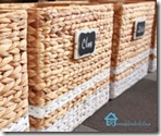 striped painted baskets with tags2TN