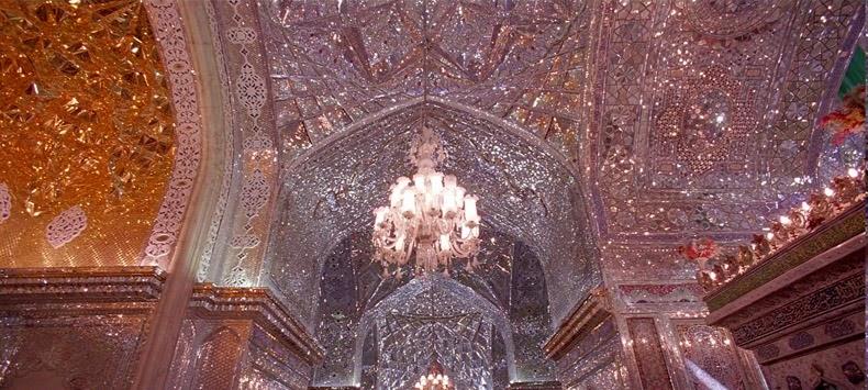 The Glittering Mausoleum Of Shah E Cheragh Amusing Planet