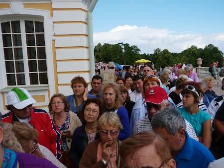 Obiective turistice Rusia: La coada la palat