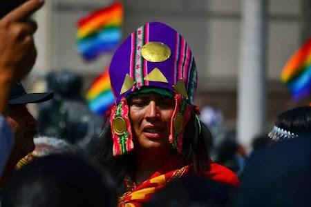 Imagini Peru: Lima - sarbatoare locala