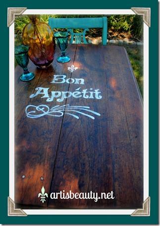bon appetit table