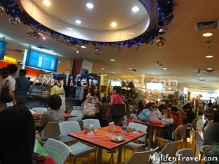 Plantinum Mall Food Court 4