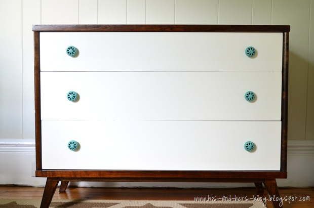 dresser turned changing table