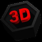 Next Launcher Theme Polygon 3D v1.5.1