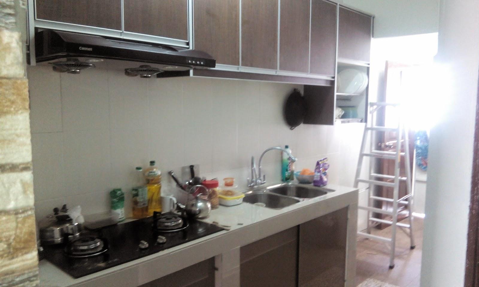 Cantikkan Simple Je Design Kabinet Dapur Rumah Ni