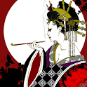 Live Wallpaper Oiran Moonlight