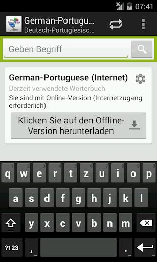 Deutsch-Portugiesisch