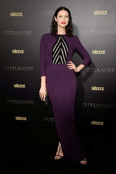 Caitriona Balfe Outlander Mid Season New York