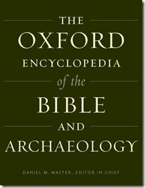 Oxford Encyclopedia of the Bible and Archaeology 9780199846535