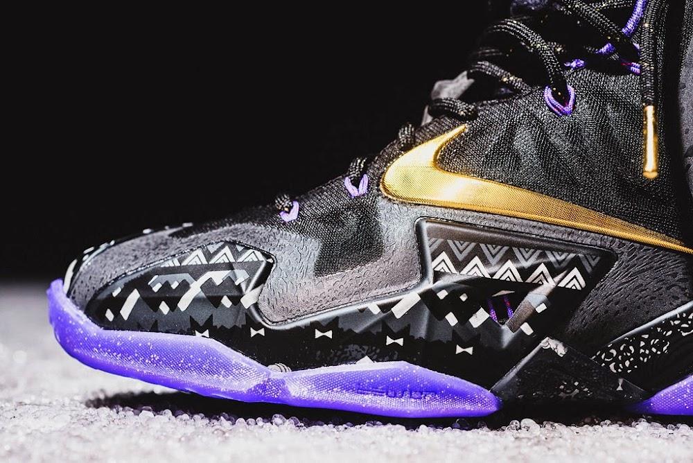 quite nice 4b0c4 ea618 ... Release Reminder Nike LeBron 11 Black History Month ...