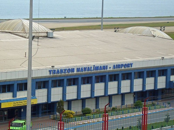 مطار طرابزون الدولي في تركيا تركيا