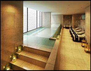 diseño y arquitectura de spa hotel noi