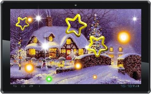 Christmas Snowfall 2014 HQ LWP