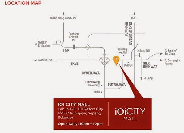 LOKASI IOI CITY MALL