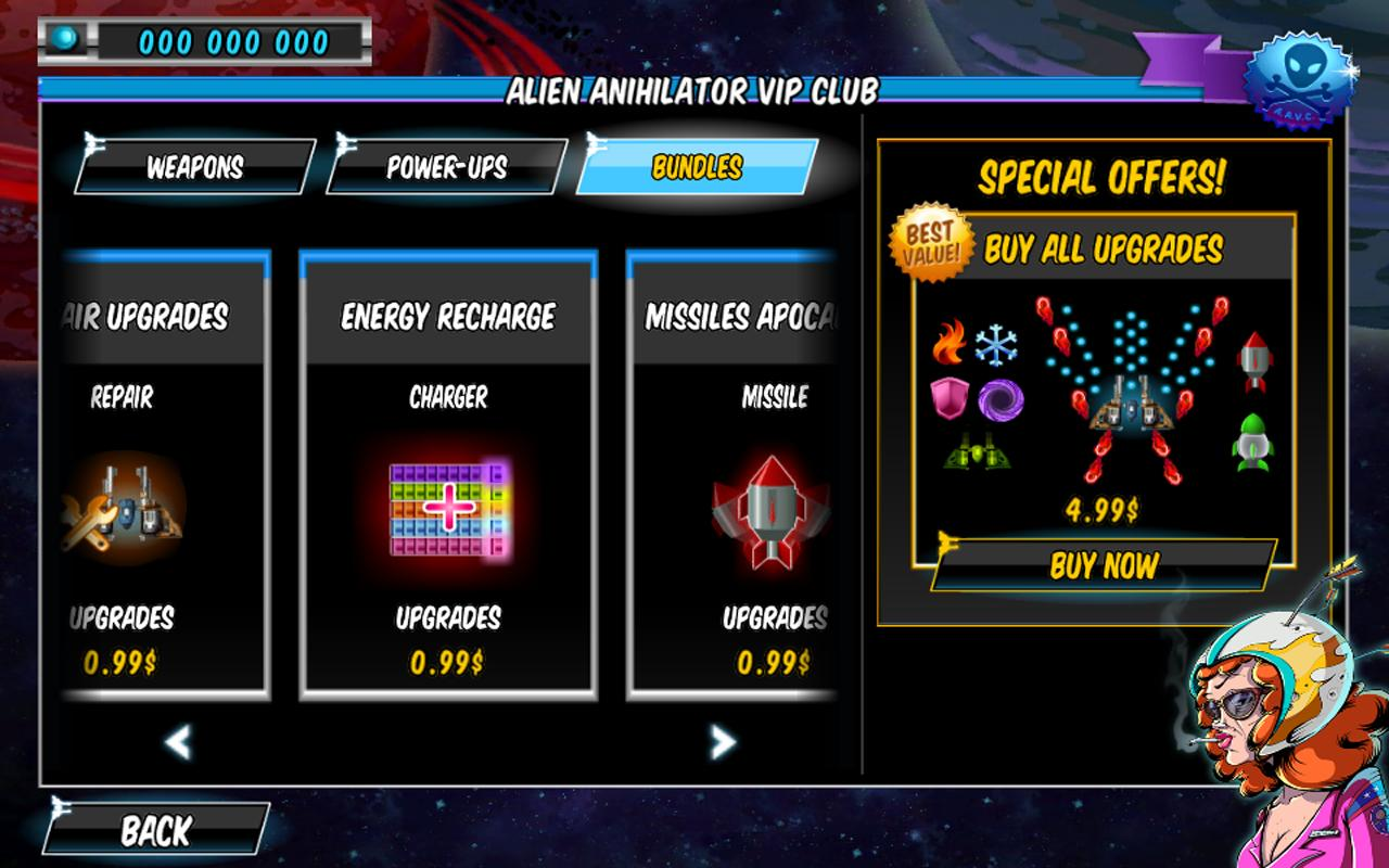 A Space Shooter For Free- screenshot