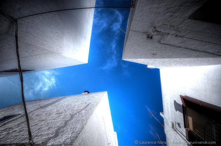 Ostuni white sky