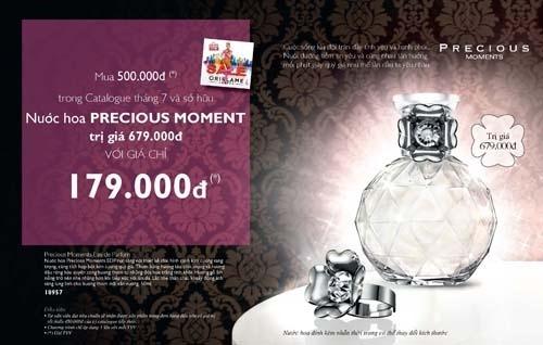 Chuong Trinh Nuoc Hoa Precious Moments 2