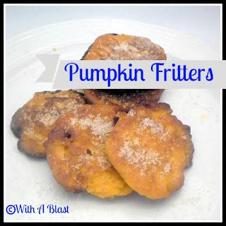 Pumpkin Fritters {side dish}.