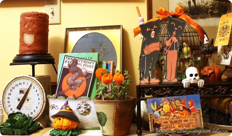 HALLOWEEN-Bargain Decorating with Laurie