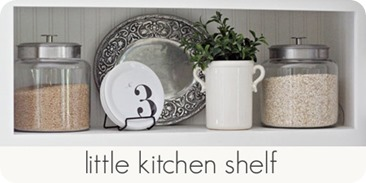 little kitchen shelf