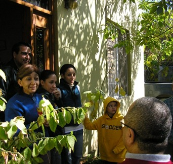 Friends in Ciudad Victoria, Mexico