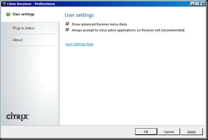 Citrix Receiver 3 0–Missing Desktop Options Menu | Fdo's Workspace