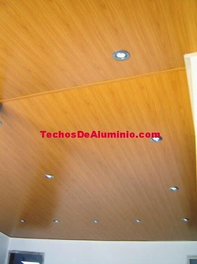 Techos aluminio Alcoy