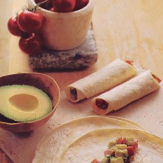 Vegetable-Salad Burritos.