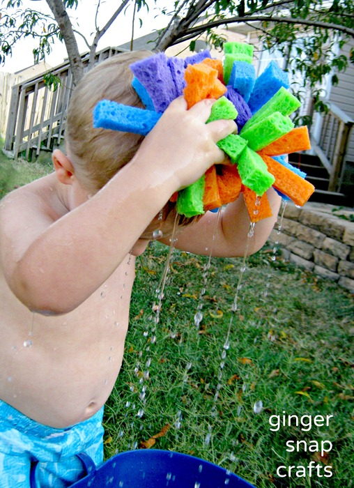 water bomb fun summertime activity