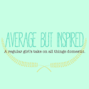 Average But Inspired Blog Button