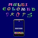 Multi Colored Drops logo