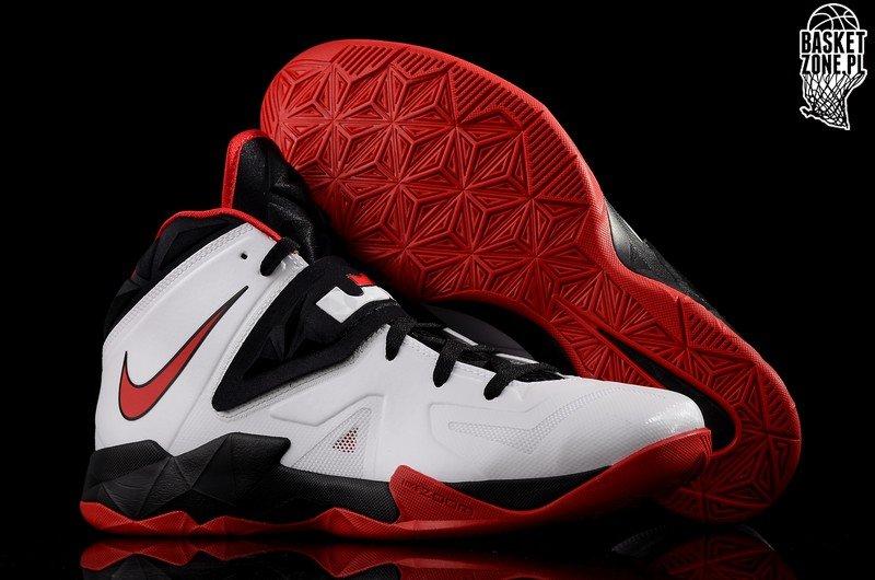 eb8bb92900e9 Nike Zoom Soldier VII White   Black   Red (599264-100)