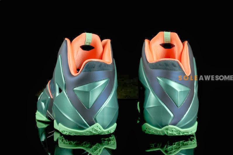 sports shoes f01c0 0b415 ... Akron vs Miami Nike LeBron XI 8211 New Photos