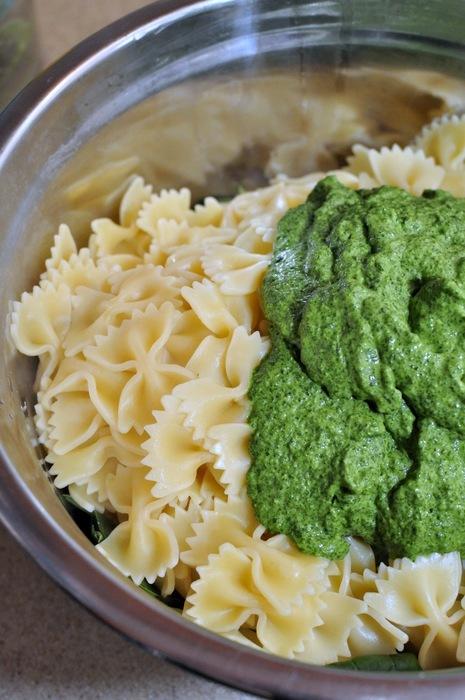 Spinach Pasta 08