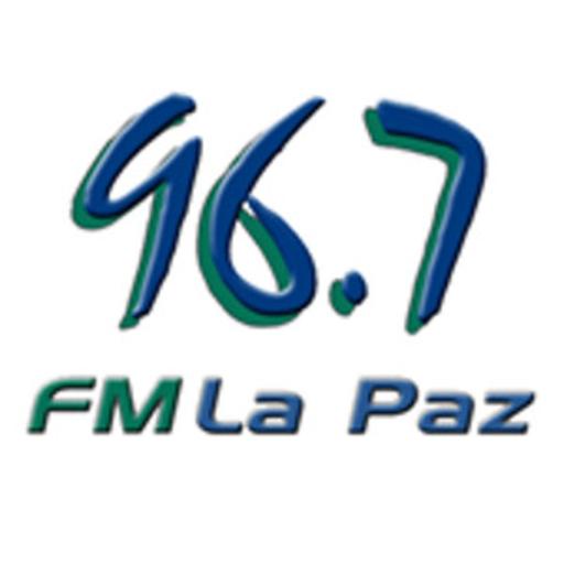 96.7 FM LA PAZ LOGO-APP點子