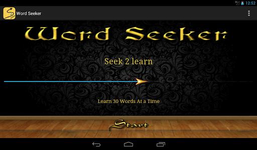 玩教育App|Word Seeker免費|APP試玩