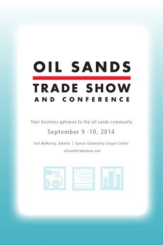 Oil Sands Trade Show Conf 14