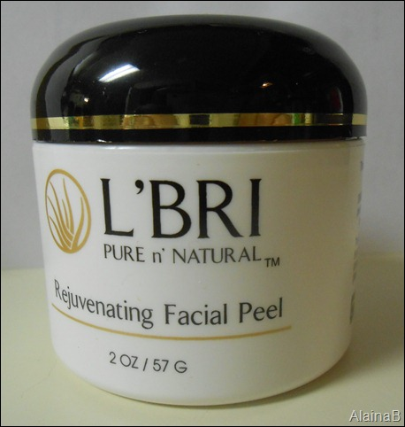 L'bri Pure and Natural Skincare facial peel
