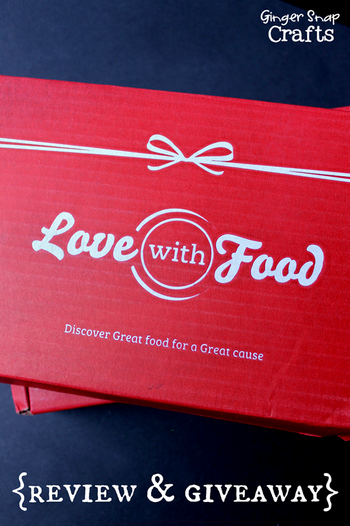 Love with Food Review & Giveaway at GingerSnapCrafts.com #sponsored