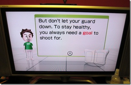 wii fit uncool goal dad