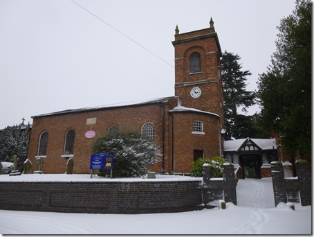 Wistaston in the snow (18-1-13) -  St Mary's Church (3)