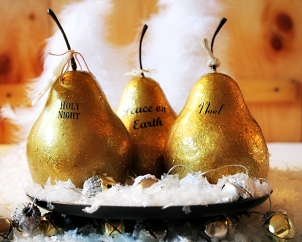 Gilded-Pears-ModPodge-@Cupcakes-and-Crinoline-4