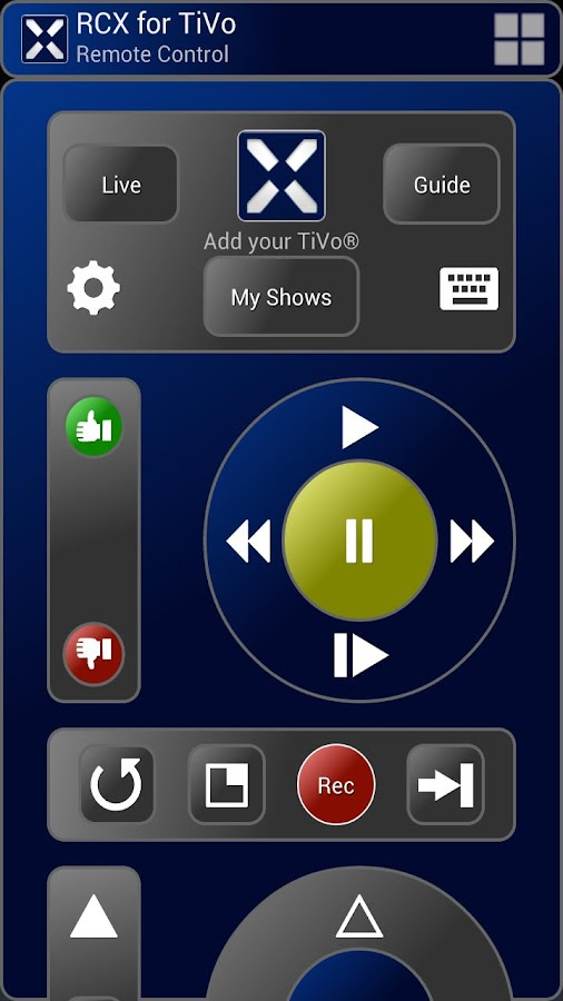 RCX for TiVo (free) - screenshot