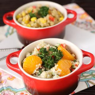 Feta Mandarin Asian Quinoa Salad.