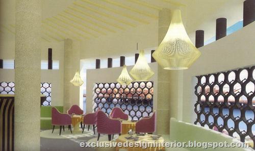 Lotus Restaurant Design Interior