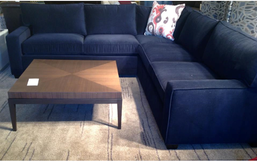 And, Suddenly, I Went From Thinking About Buying A Charcoal Gray Sectional  To A Navy Sectional Being All I Ever Wanted. Isnu0027t It Funny How Your Whole  Room ...