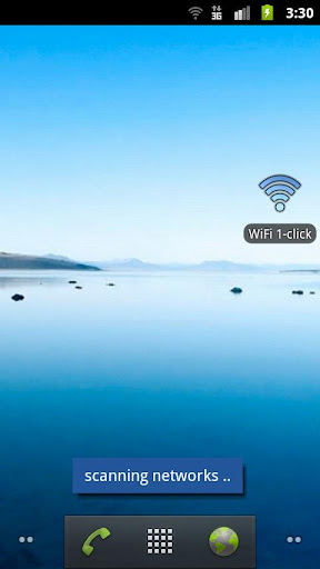 WiFi 1-click reconnection