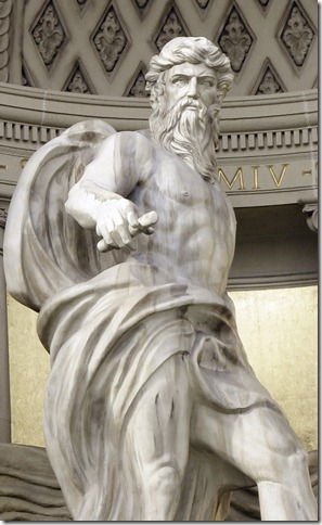 Greek Statue at Caesars Casino in Las Vegas
